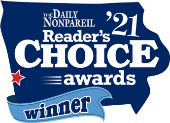 Chiropractic Council Bluffs IA Readers Choice Awards 2021